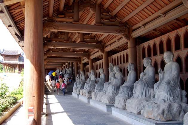 Bai Dinh Pagoda vietnam cambodia laos myanmar tour