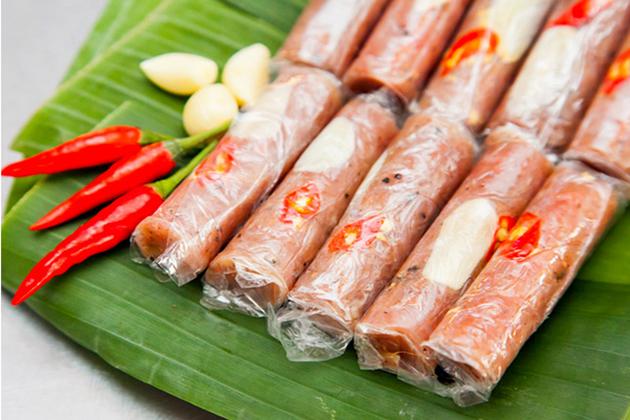 Fermented Pork Roll thanh hoa vietnam