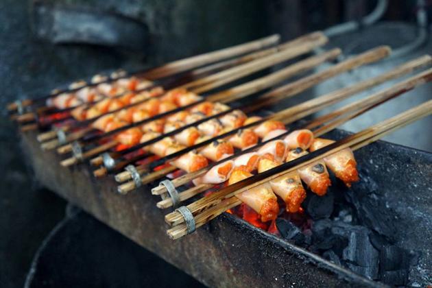 Grilled Shrimp thanh hoa vietnam