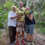 Visit tropical orchard garden in Mekong Delta