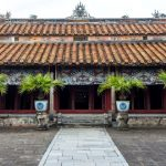 a palace inside hue imperial city
