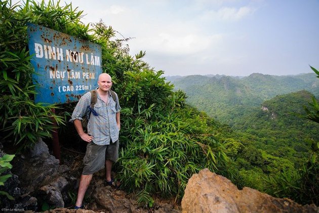 cat ba national park in may