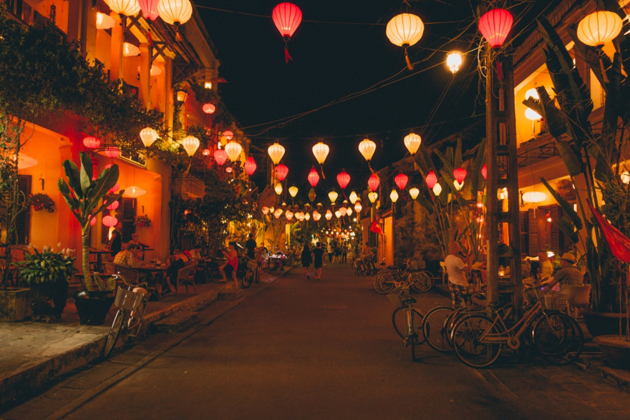 hoi an ancient town in june