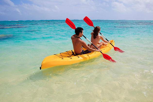 kayaking co to island