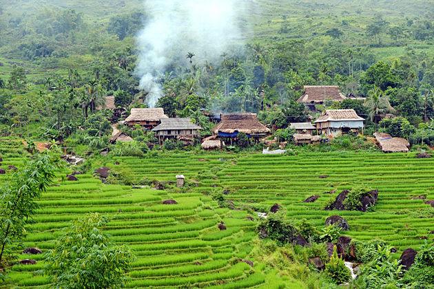 lai chau ethnic village