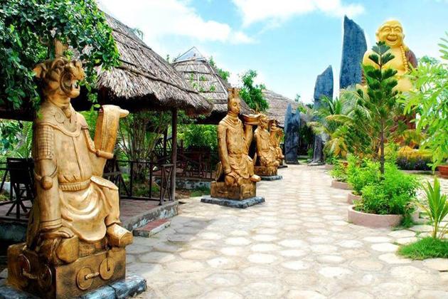 nha mat tourist area bac lieu vietnam