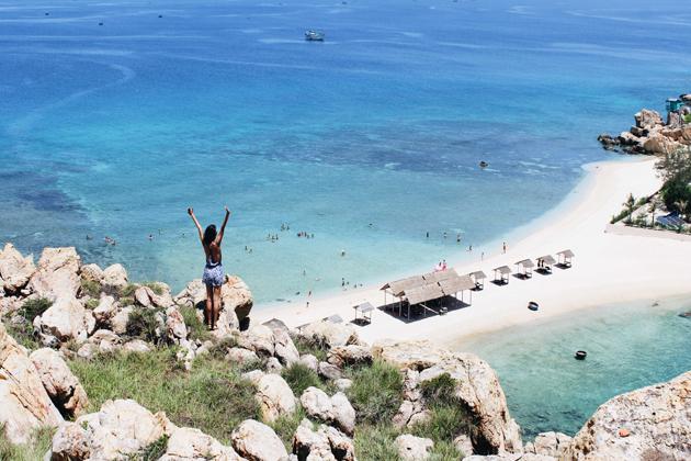 nha trang beach in july
