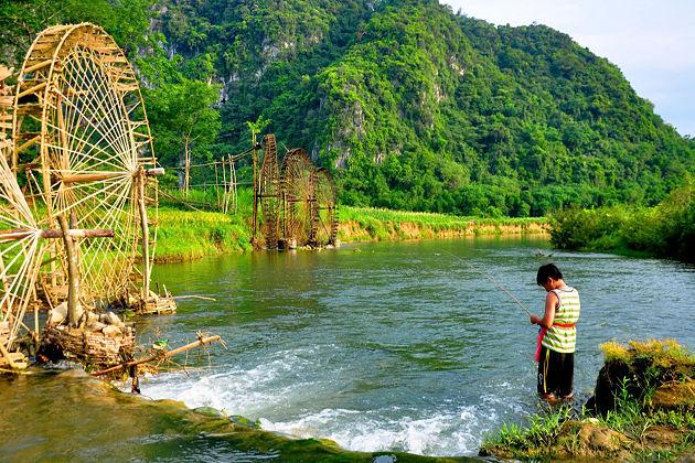 pu luong nature reserve thanh hoa vietnam vacation