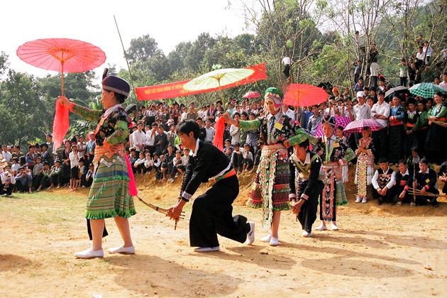 tet dance festival in february