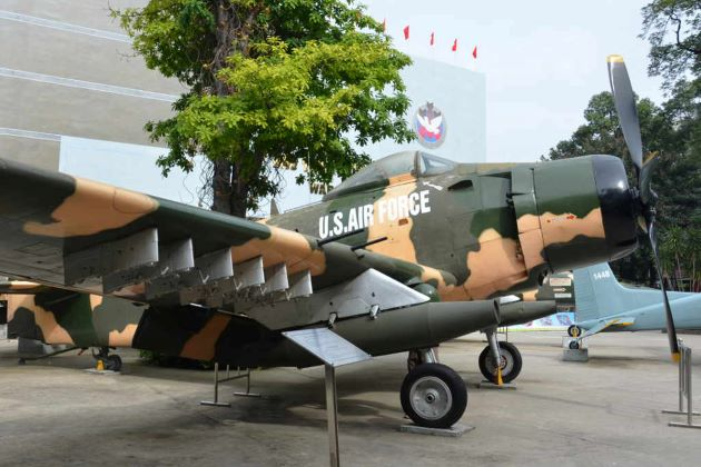 war remmant museum in saigon city