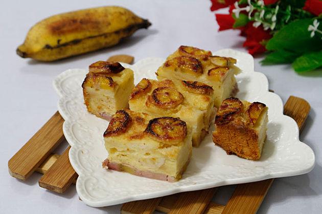 Luc Yen Banana Cake yen bai vietnam