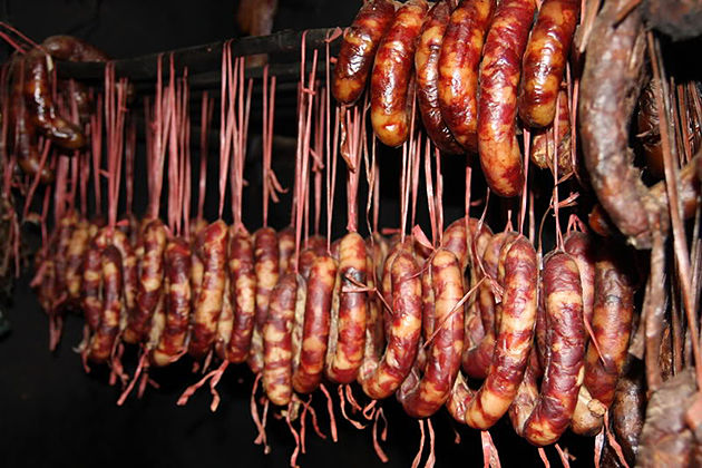 Yen Bai Sausage yen bai vietnam