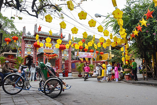 tet holiday in hoi an