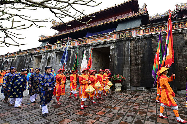 tet holiday in hue