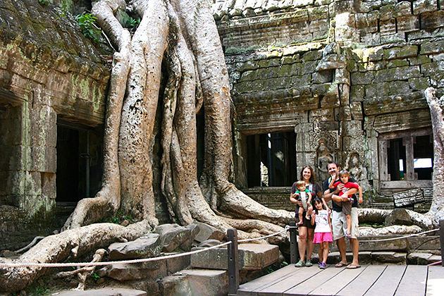 Siem Reap Vietnam and Cambodia Family Tours