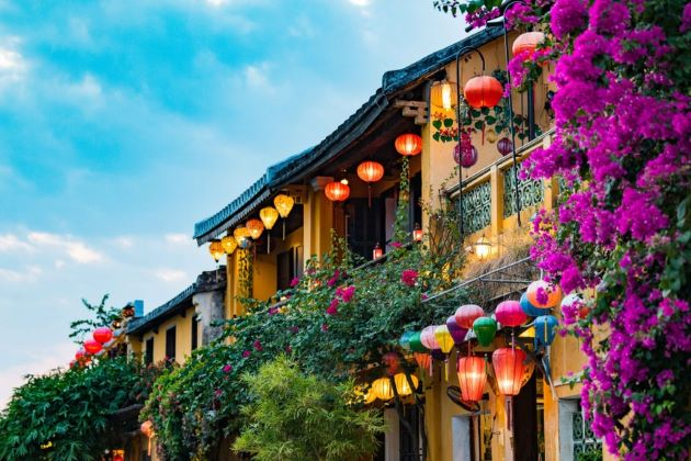a corner of hoi an ancient town