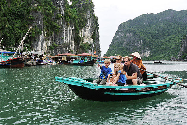 halong bay vietnam family tours