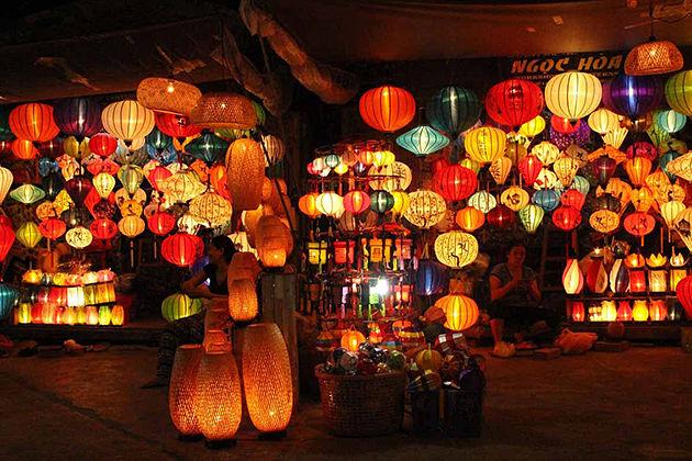 hoi an lantern vietnam and laos tours