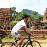 my son biking tour