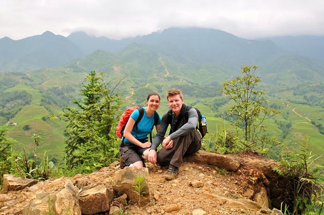 sapa trekking vietnam honeymoon tour