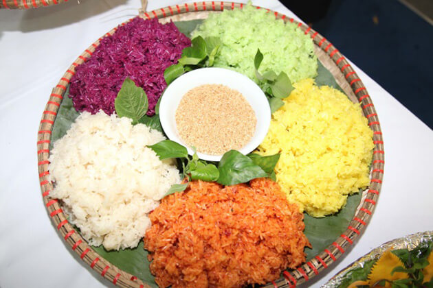 five color sticky rice ha giang local tours