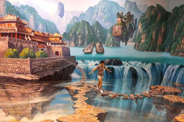 Artinus 3D Art Museum in ho chi minh city