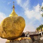 Golden Rock Pagoda in yangon