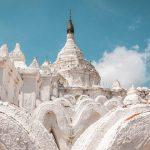 Hsinbyume Pagoda in mandalay