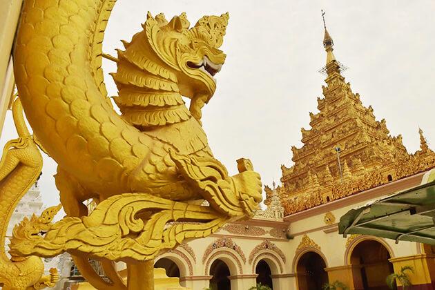 Mahamuni Pagoda in Mrauk U
