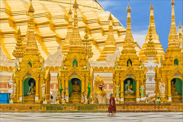 Myanmar Grand Tour & Beach Vacation – 14 Days