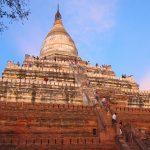 Shwenandaw Pagoda in sunset