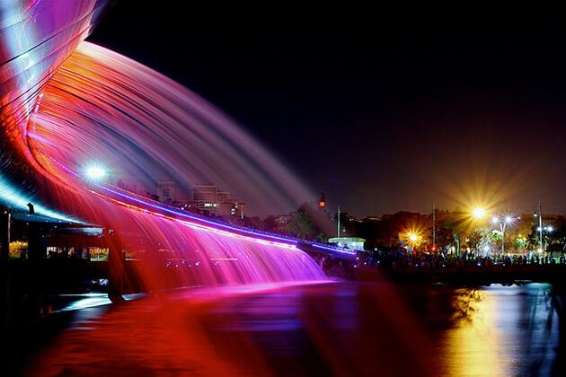 Starlight Bridge in ho chi minh city