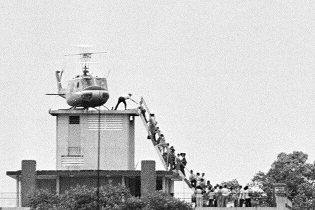 The Last Helicopter to escape from Saigon