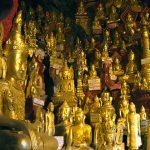 buddha statues in Pindaya cave