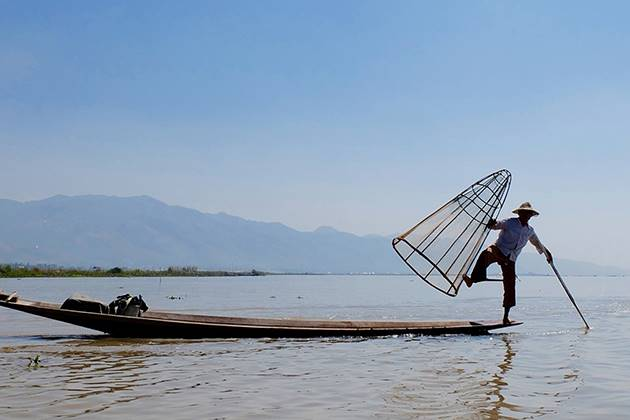 fisherman at inle lake tours to myanmar