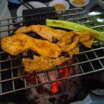 grill goat breast
