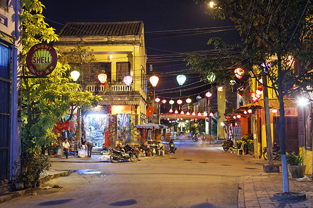 hoi an ancient town in the off season tourism