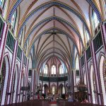 inside St. Mary Cathedral in yangon