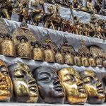 souvenirs in Bogyoke Market