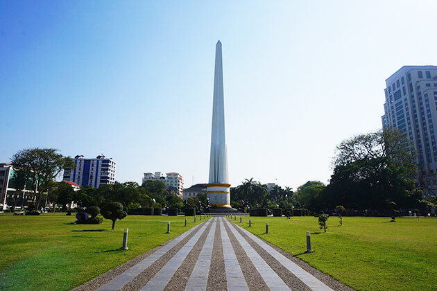 yangon Independence Monument