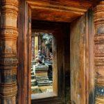 Banteay Srei in siem reap cambodia