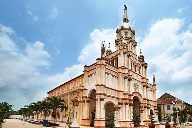 Catholic Church in Gieng Island