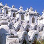 Hsinbyume Pagoda in myanmar