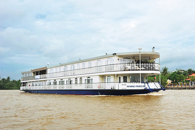 RV Mekong Princess in Mekong River
