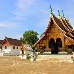 Wat Xiengthong in luang prabang laos