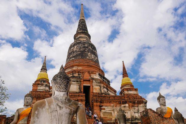 Wat Yai Chaimongkol in Ayutthaya