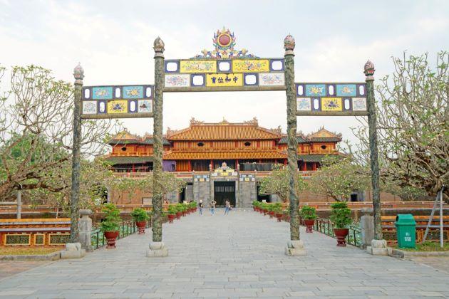 gate at hue imperial citadel