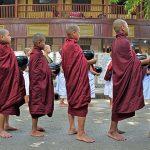 monks at Mahagandayon monastery