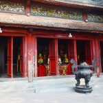 ngoc son temple in hoan kiem lake