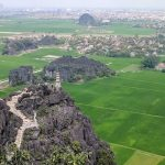 ninh binh from above